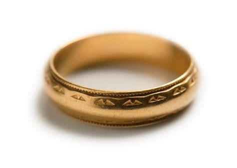 ANTIQUE MAN WEDDING RING   ANTIQUE RING