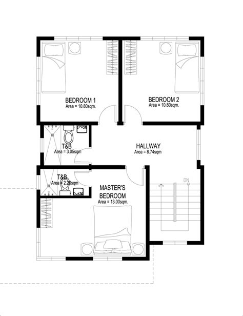 two floor plans two house plans series php 2014007