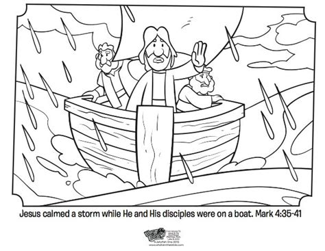 coloring pages jesus calms the 17 best images about jesus calms bible story on