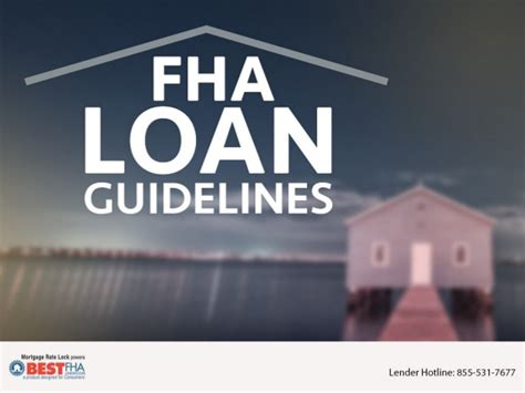 fha loan guidelines
