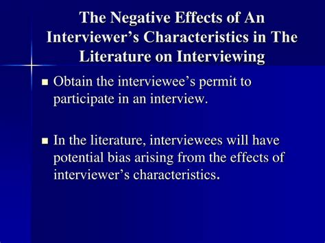 literature characteristics ppt a dramaturgical look at interviewing powerpoint