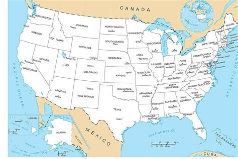map of usa states cities map usa states 50 states with cities arabcooking me