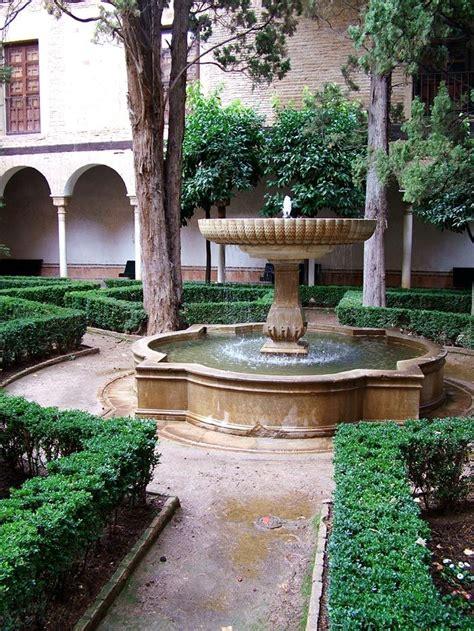 outdoor courtyard spanish garden courtyard for the garden