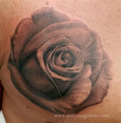 realistic black rose tattoo 25 best black and grey realistic images on
