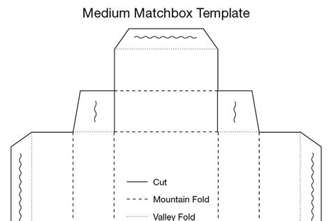 dearly dee medium matchbox template