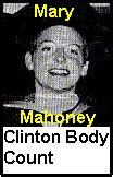 mary mahoney white house intern clinton bush obama body count