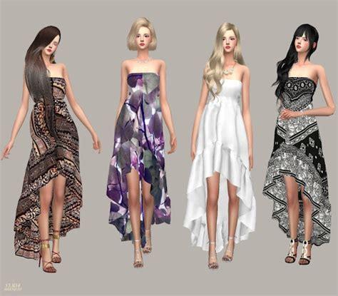 sims 4 custom content dresses clothing sims 4 custom content