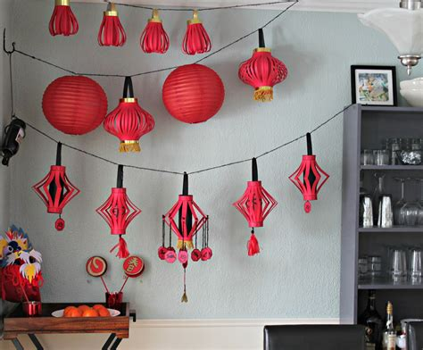 stylish  easy chinese  year decorations  asia