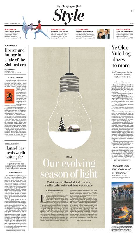 newspaper layout generator washington post print design on behance