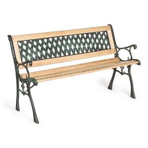 panchine in ghisa e legno panchina in legno e ghisa mobili giardino etnici