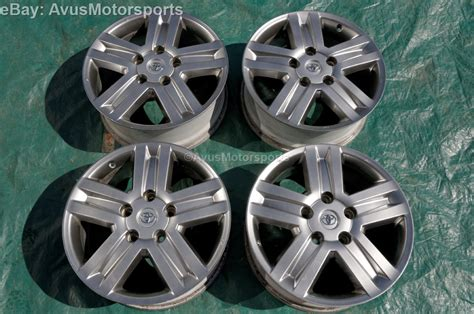 Toyota Tundra 20 Inch Trd Wheels 2007 Toyota Tundra Trd 20 Quot Oem Wheels Factory Sequoia Land
