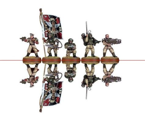 Papercraft Miniatures - new paper craft lots of printable warhammer 40k 2d