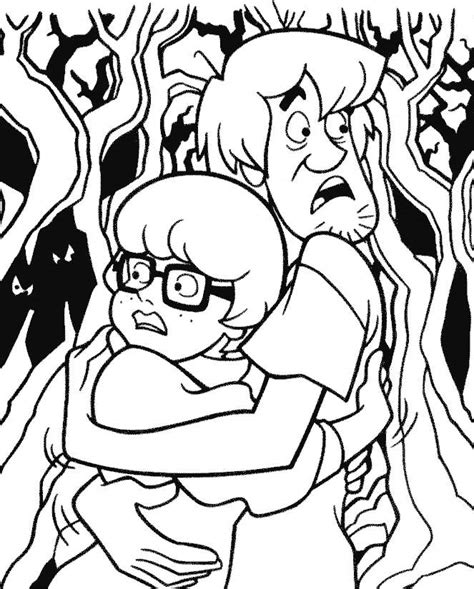 scared cat coloring page scared cartoon cat az coloring pages