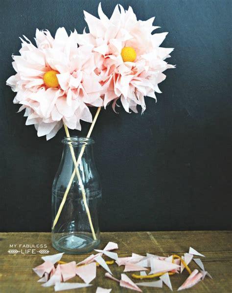 Diy Tissue Paper Crafts - 40 diy paper flower tutorials you must see decorextra