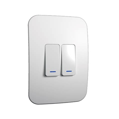 veti 2 lever light switch complete livecopper