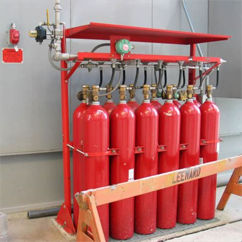 gas suppression system zenco and security system