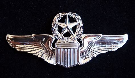 Wing Pilot Badge Us Air Usaf Emblem us air command pilot badge wing pin up us authentic army air corps gift ebay