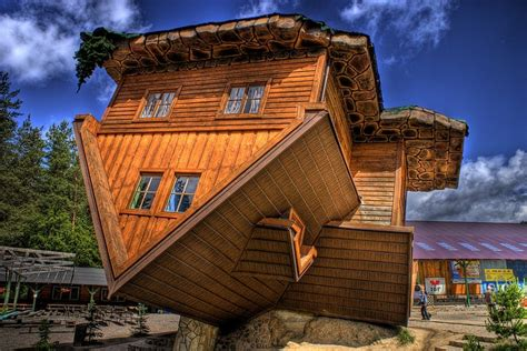 upside down house poland the upside down house in poland what is home pinterest