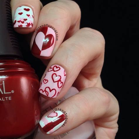 valentines day nails 22 nail designs for your s day pretty