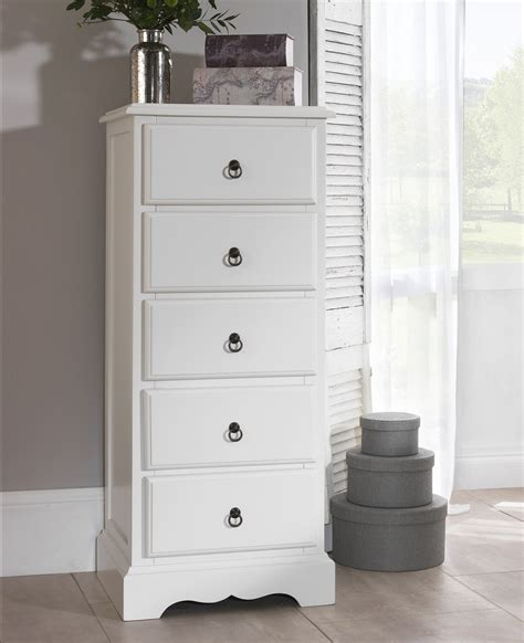 5 drawer tallboy bedroom furniture direct