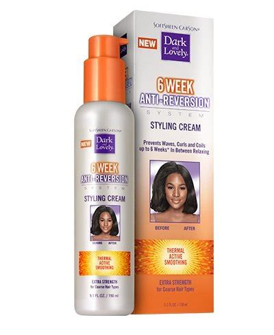 Black Natural Hair Straightening Products | anti reversion straightening damaged black hair dark