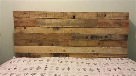 wood pallet headboard diy diy upcycled pallet headboard ideas pallet wood projects