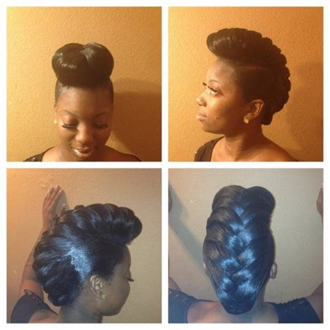pompadour braid hairstyles 107 best images about beauty braids buns twists