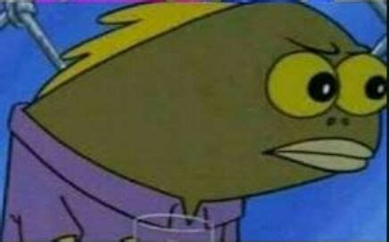 Spongebob Fish Meme - ut book collab contest 1000 special closed undertale