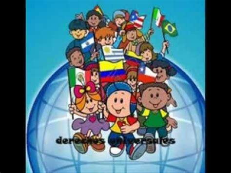 imagenes para colorear sobre los derechos de los niños cancion los derechos humanos de los ni 241 os youtube