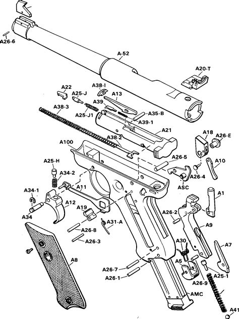 Ruger 1 Parts Diagram