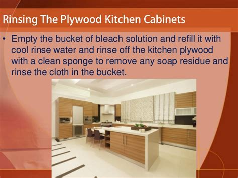 How To Clean Cabinets In The Kitchen How To Clean Plywood Kitchen Cabinets