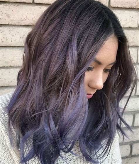 hair color balayage 30 brand new ultra trendy purple balayage hair color ideas