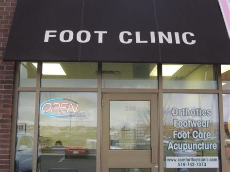 comfort clinic comfort foot clinic kitchener on 1170 fischer hallman