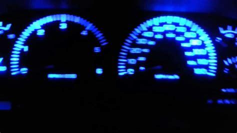 blue led dash lights dodge ram blue led dash lights mod