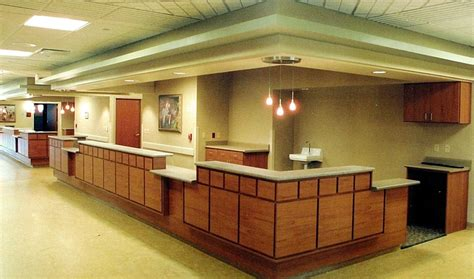 commercial reception desk commercial office interiors by closets