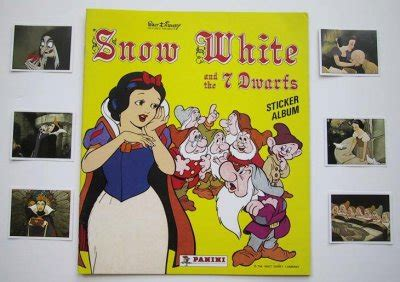 snow white and the seven dwarfs picture book sticker book for snow white and the seven dwarfs from our