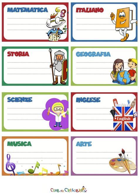 clipart scuola primaria etichette per la scuola da stare cose per crescere