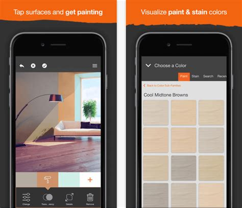home depot color paint app ideas painting your home project color app by the home depot the