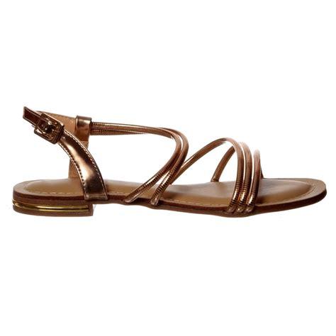silver dressy flat sandals shoekandi flat summer dress sandal embellished finish
