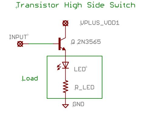 transistor load or switch basic circuit building blocks opencircuits