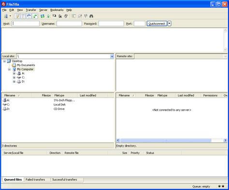 tutorial web hosting indonesia tutorial konfigurasi situs baru di filezilla ftp client
