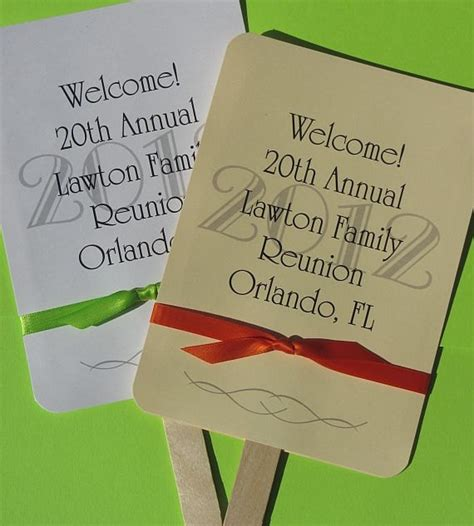 Family Reunion Giveaways - family reunion favors