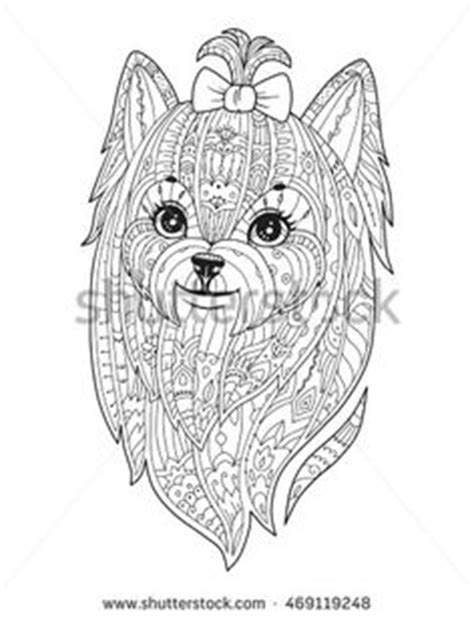 mandala tattoo yorkshire yorkshire terrier dog yorkie embroidery design apex
