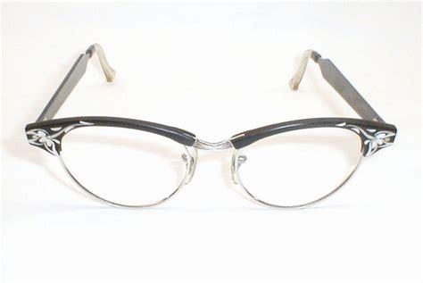 silver cat eye glasses frames