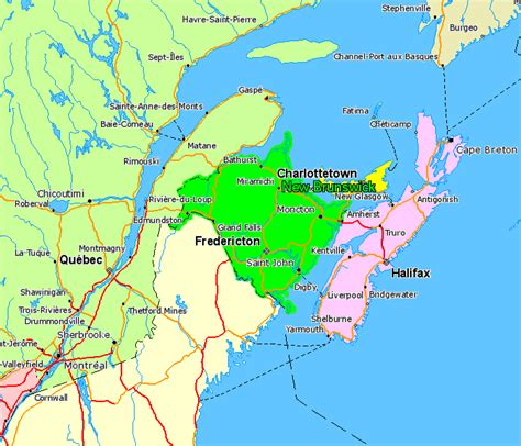 map of maine usa and new brunswick canada 301 moved permanently