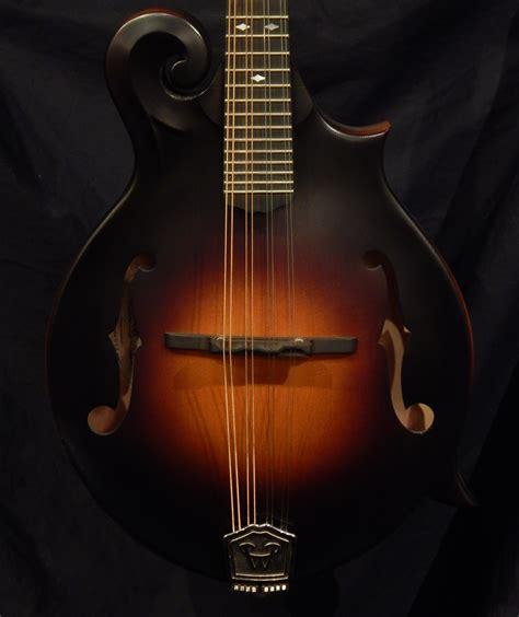 Handmade Mandolin - weber gallatin f custom burst mandolin home