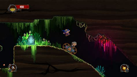 xbox one couch coop chariot from frima studios is a co op adventure platformer