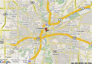 Centerville Ohio Map by Map Of Doubletree Dayton Downtown Dayton