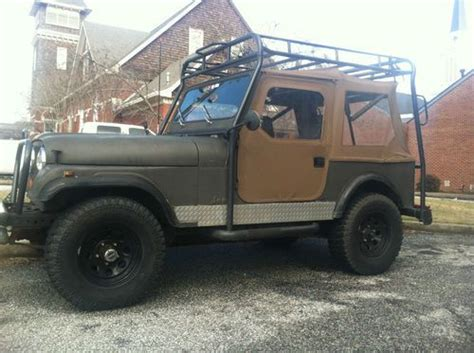 buy used 1983 jeep cj7 4 2l seats 6 roof rack in