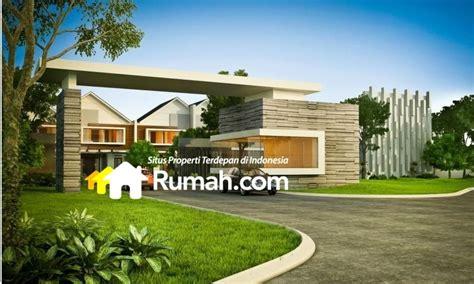 desain gapura untuk perumahan ciputat residence one tangerang selatan rumah com